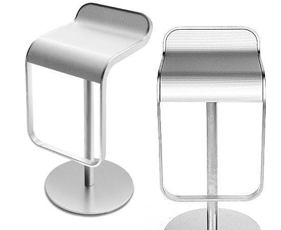Lem Stools Trendy Frame Finish Mat Chrome S With Lem