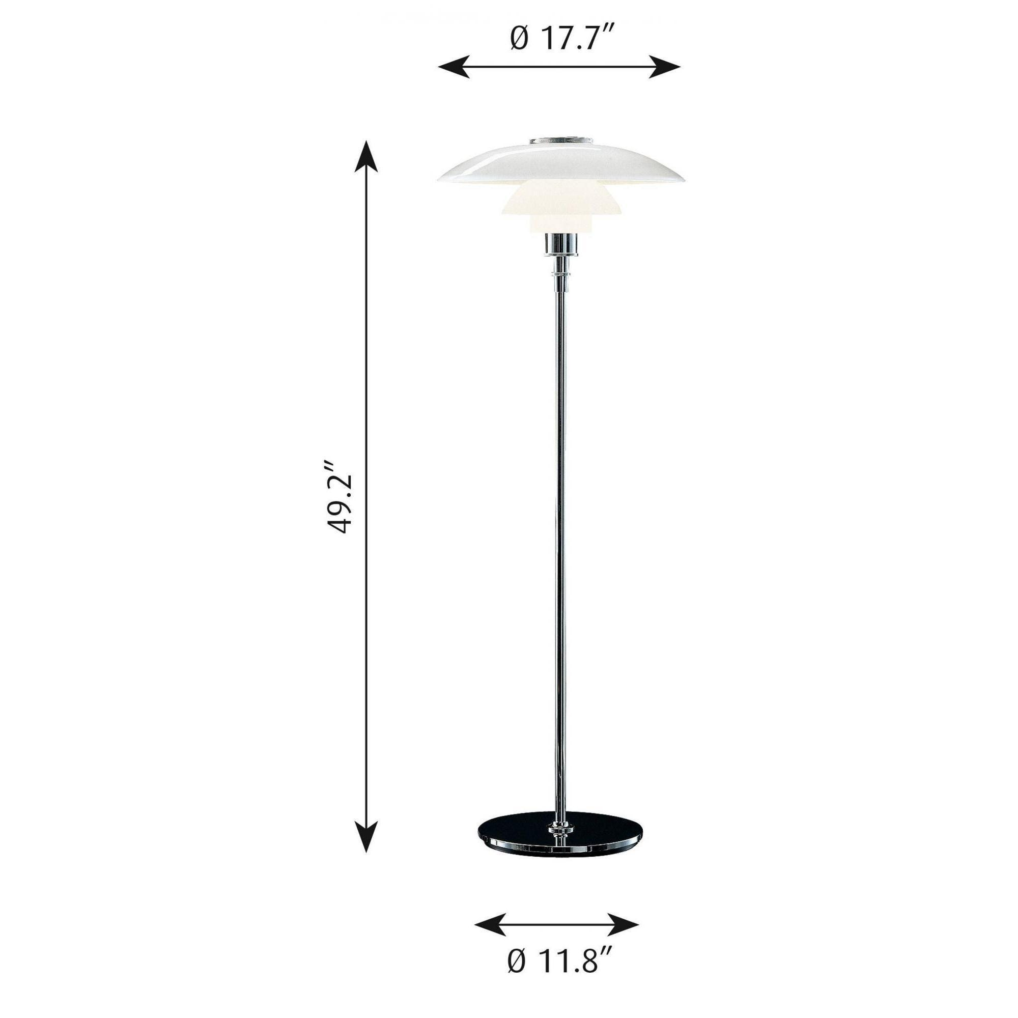 low priced e1870 7e829 Louis Poulsen PH 4½-3½ Floor Lamp