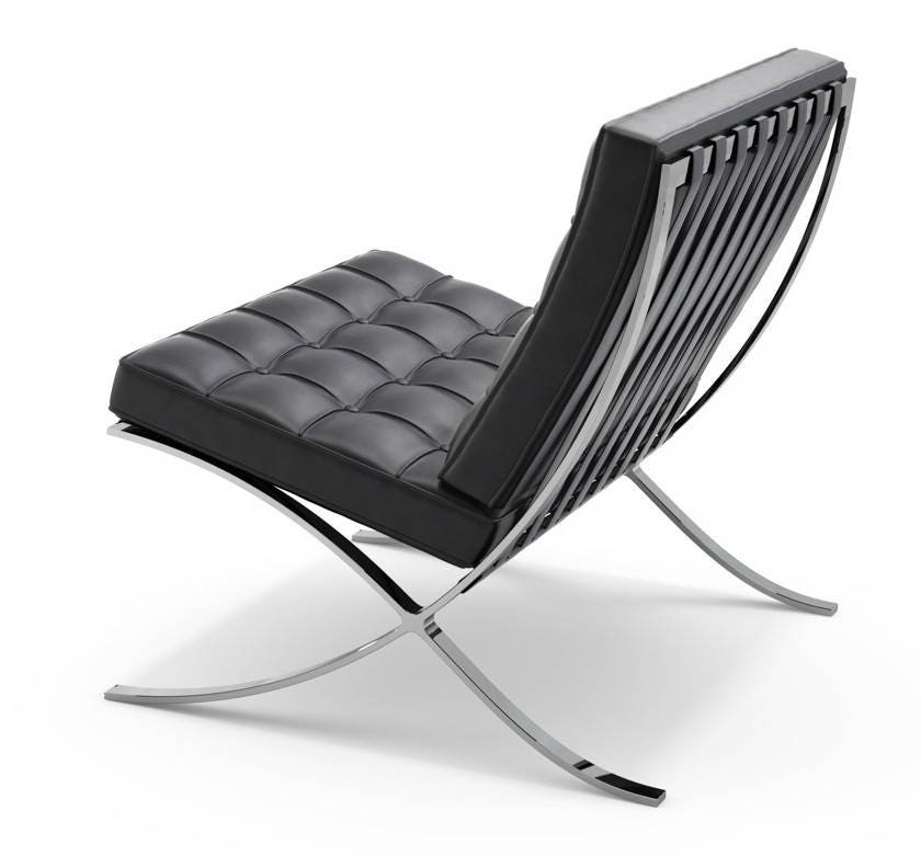 knoll ludwig mies van der rohe barcelona lounge chair. Black Bedroom Furniture Sets. Home Design Ideas