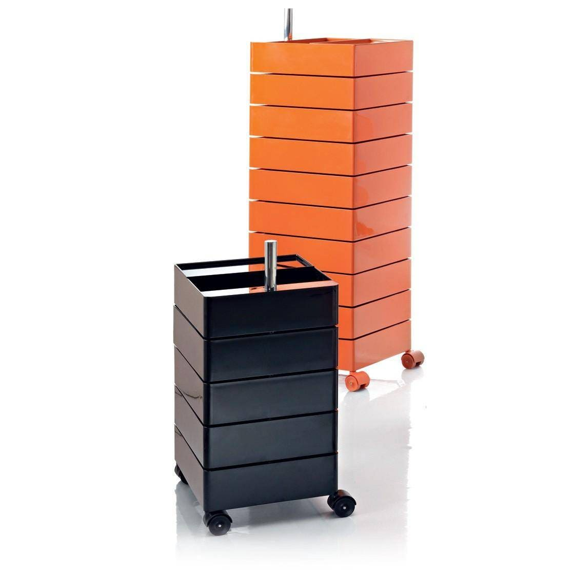 Magis 360 degree container 10 drawer unit on wheels gr for Magis 360 container