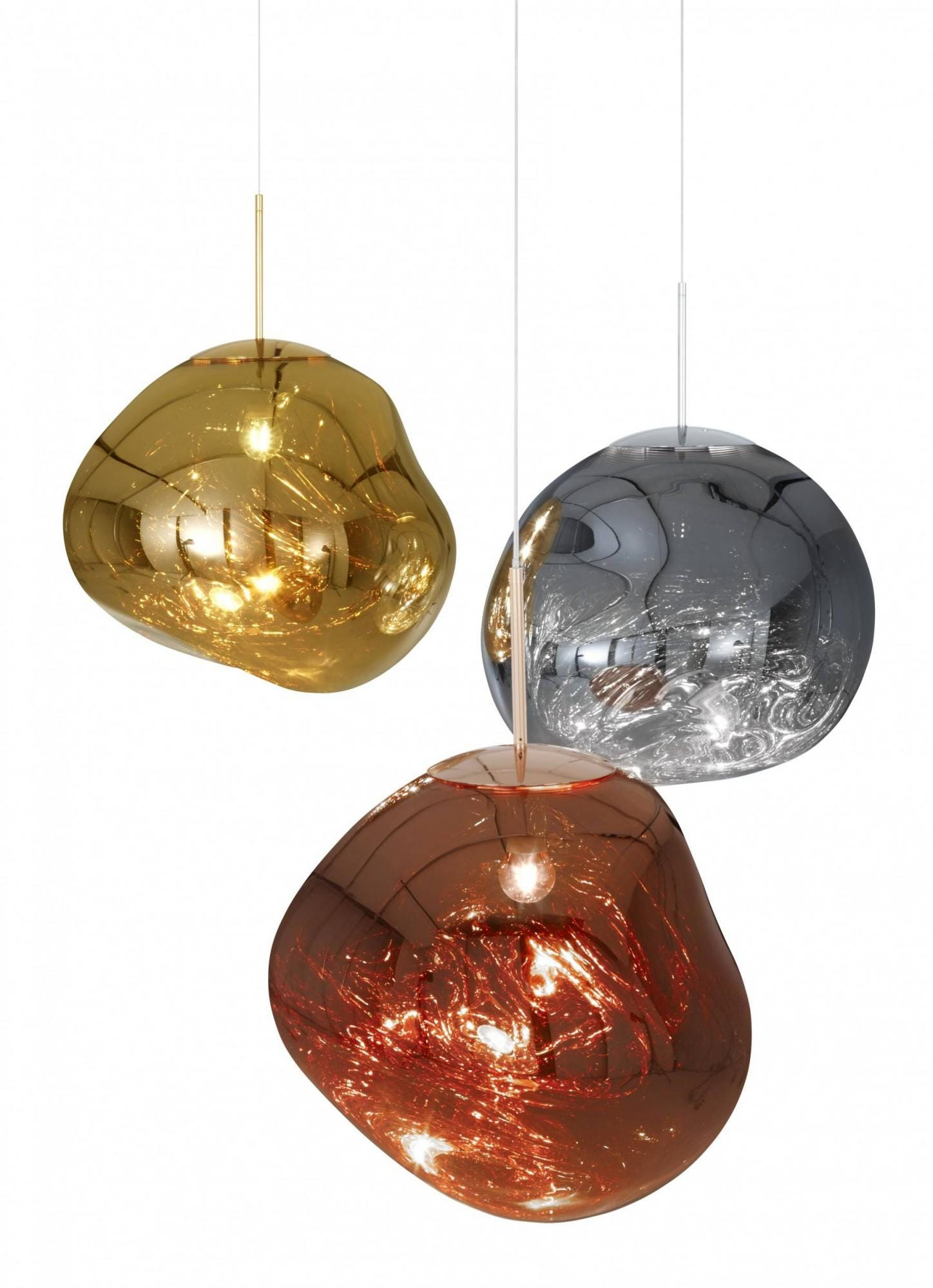 CLEARANCE - Tom Dixon Melt Mini Pendant Light - Copper
