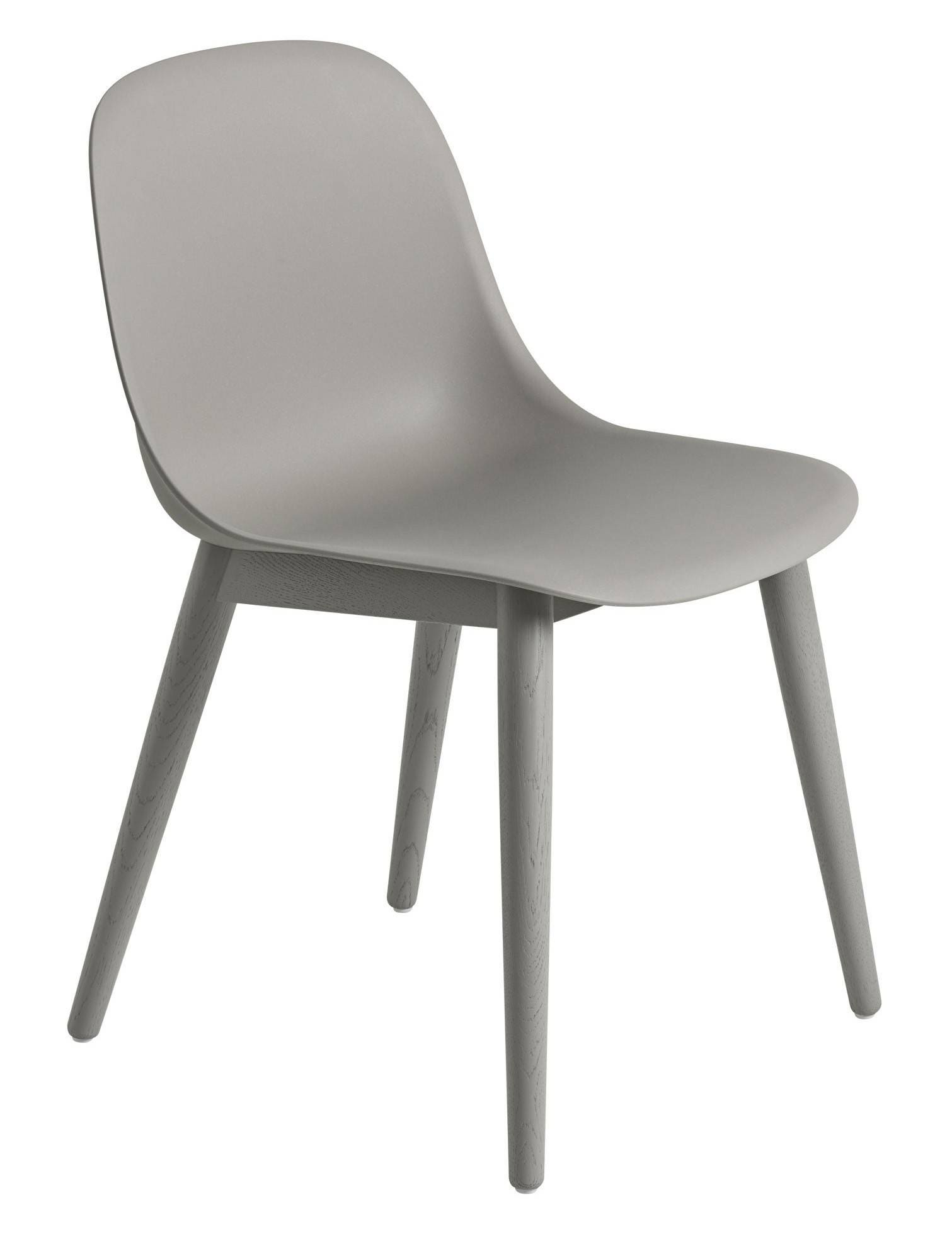 muuto wood base fiber side chair gr shop canada. Black Bedroom Furniture Sets. Home Design Ideas