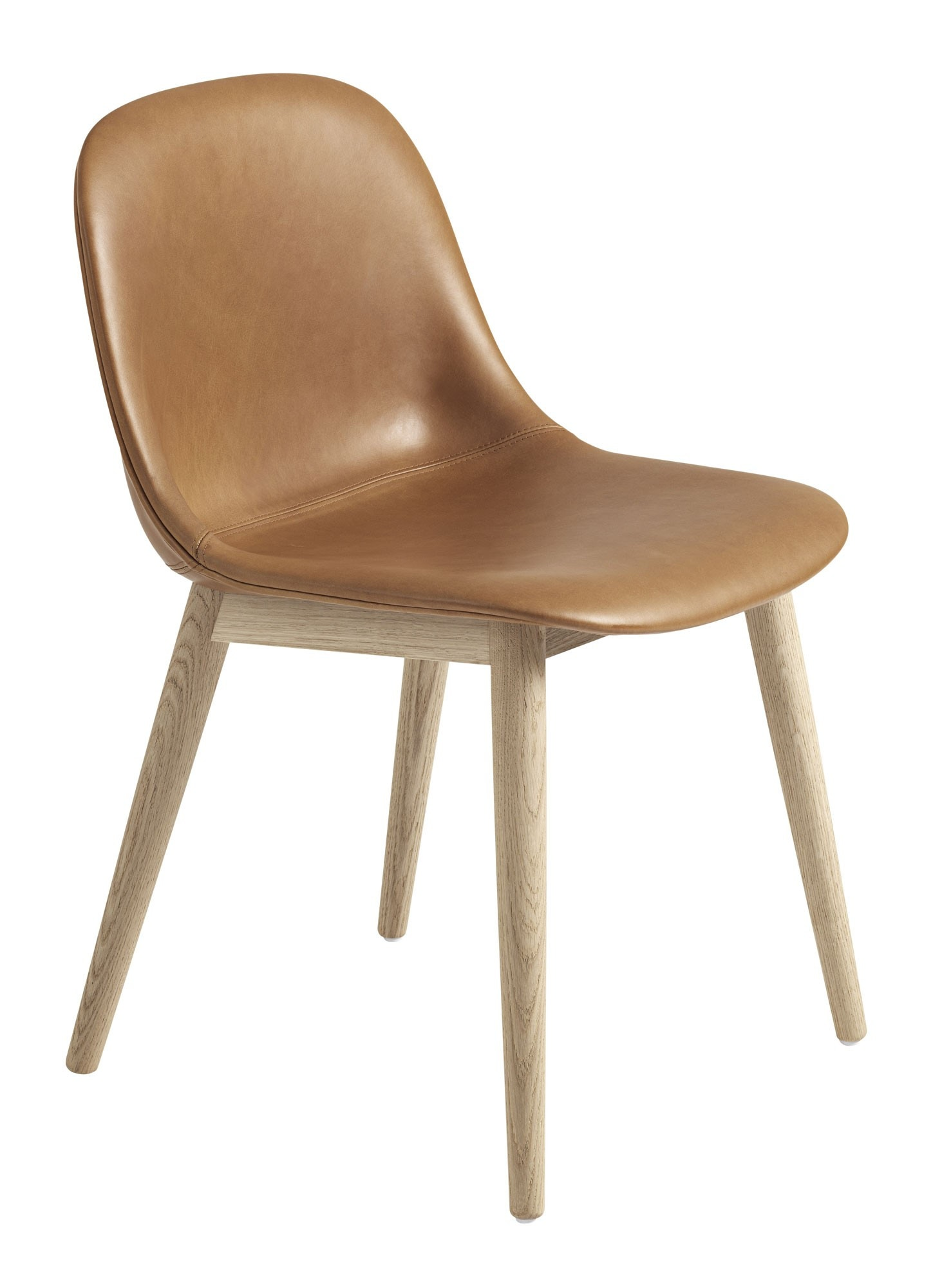 muuto wood base upholstered fiber side chair gr shop canada. Black Bedroom Furniture Sets. Home Design Ideas