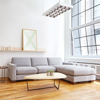 gus modern parkdale bisectional sofa  gr shop canada -