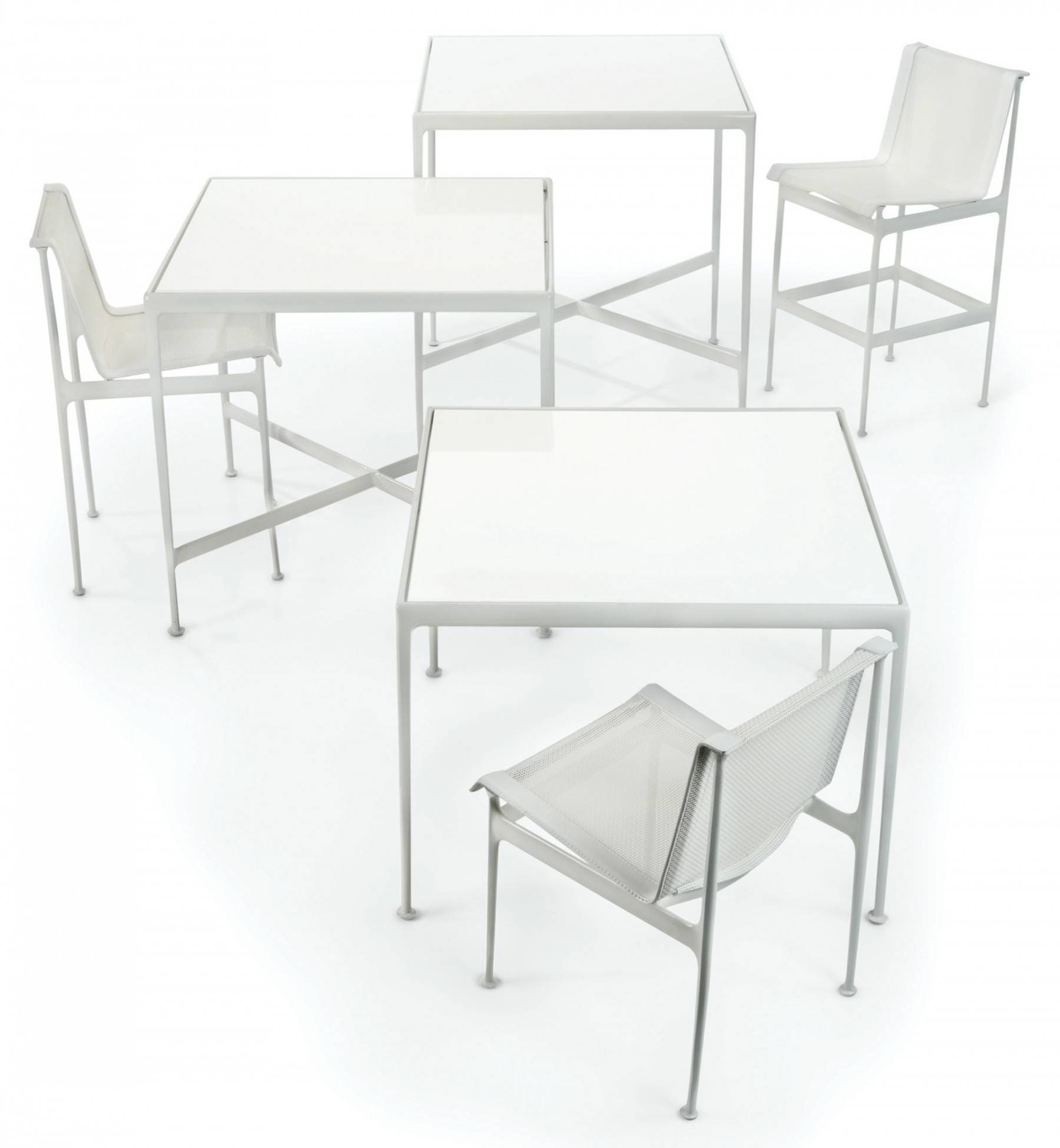 """Richard Schultz 1966 Collection Bar Height Table - 38"""" x 38"""""""