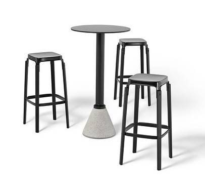 Magis steelwood stool gr shop canada for Magis steelwood