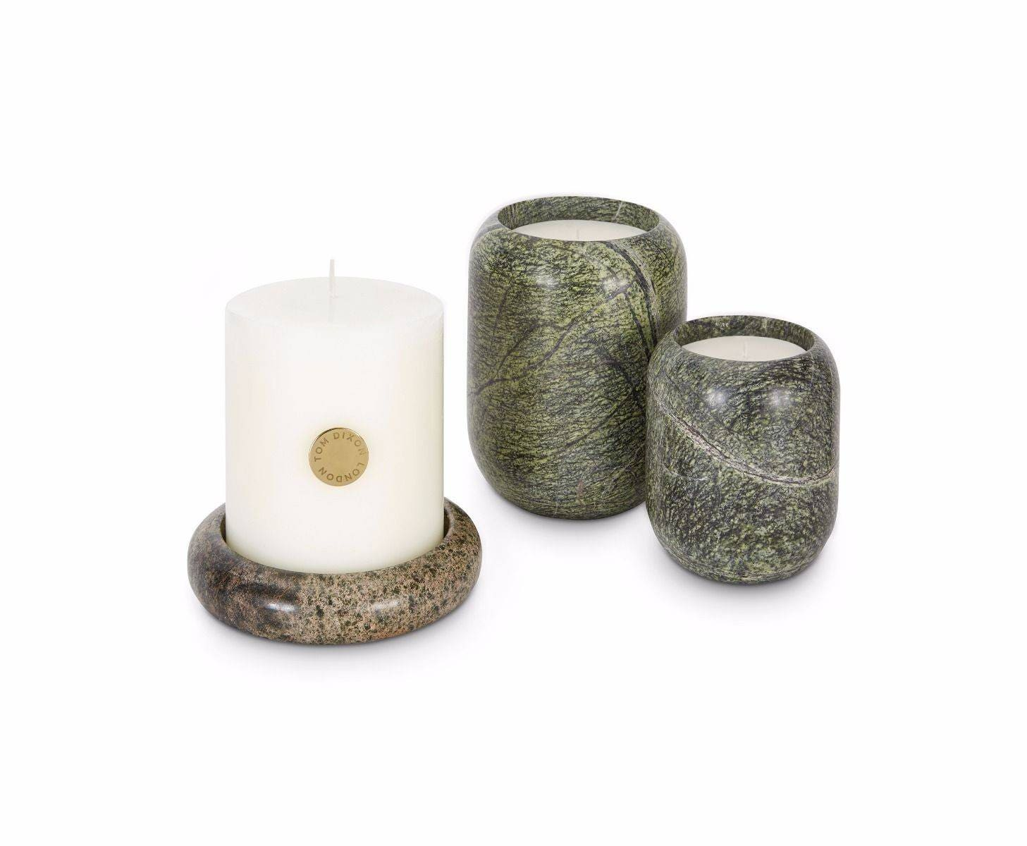 Tom Dixon Stone Pillar Candle