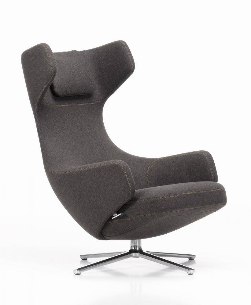 vitra grand repos lounge chair gr shop canada. Black Bedroom Furniture Sets. Home Design Ideas