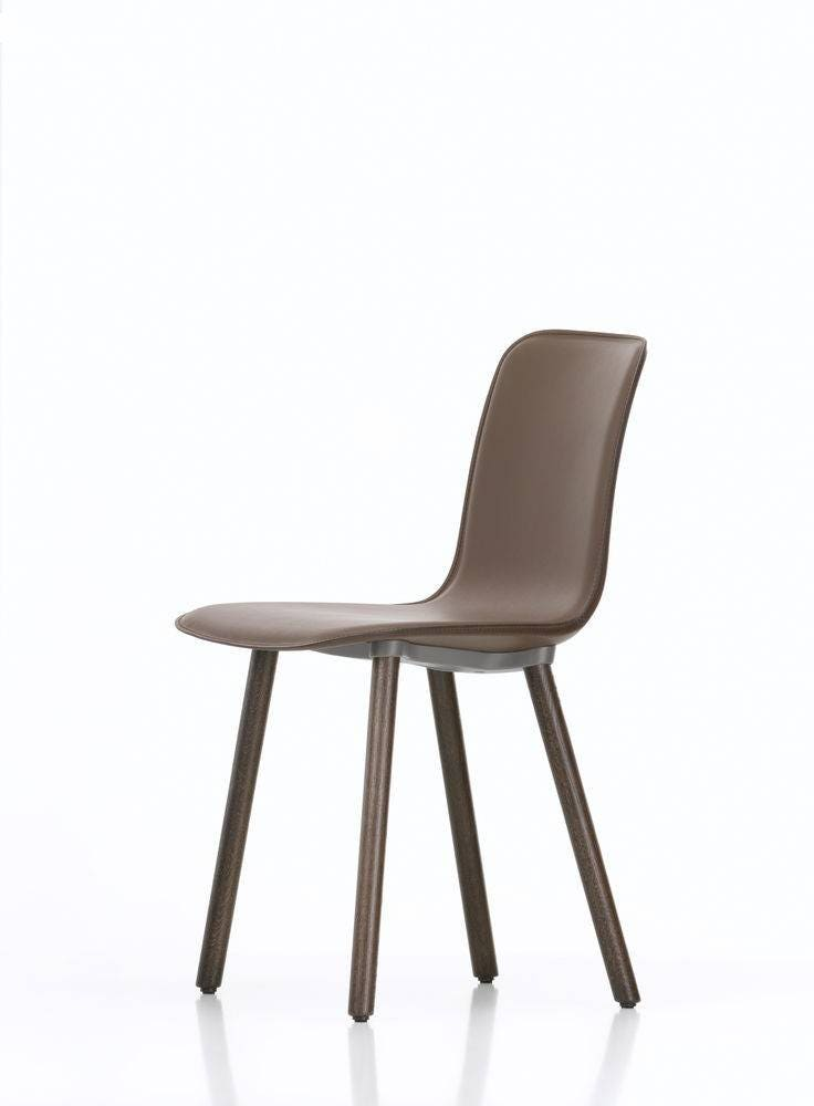 vitra hal leather wood chair gr shop canada. Black Bedroom Furniture Sets. Home Design Ideas