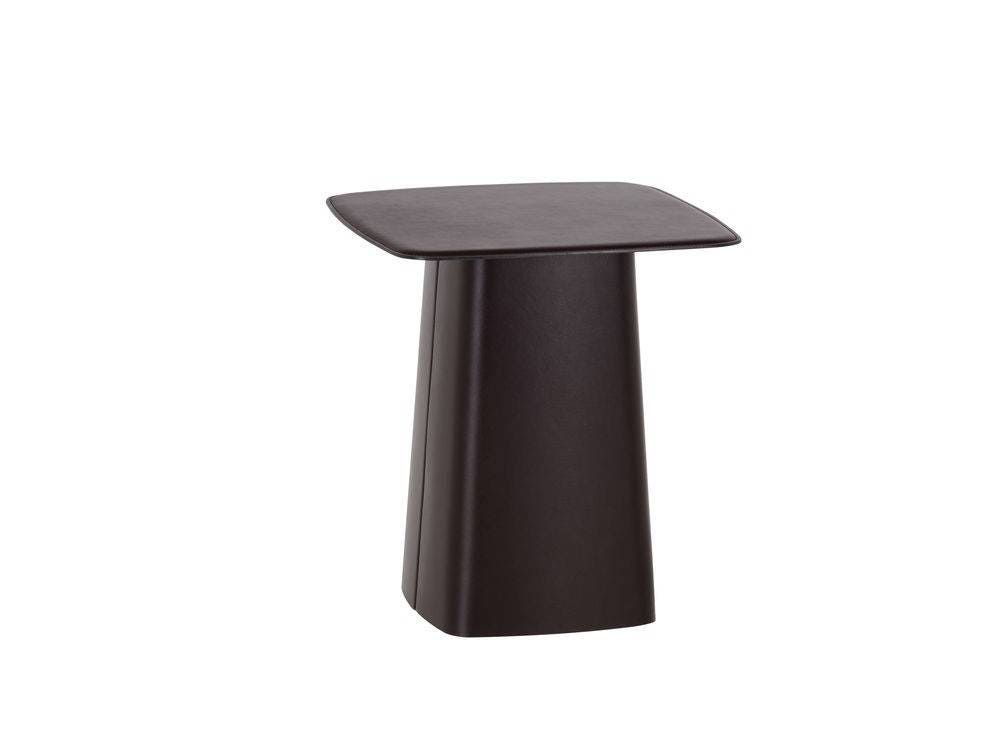 ... Leather Side Table. 1