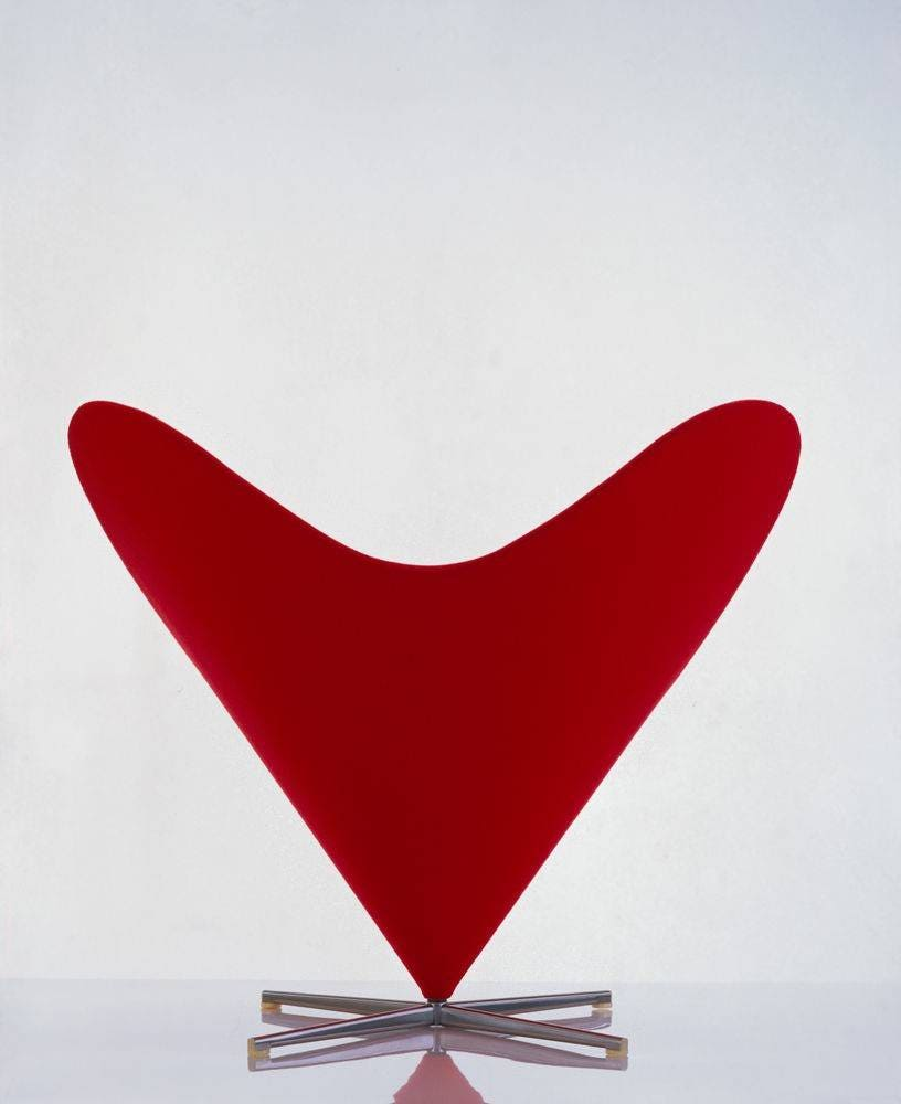 Vitra Verner Panton Heart Cone Chair