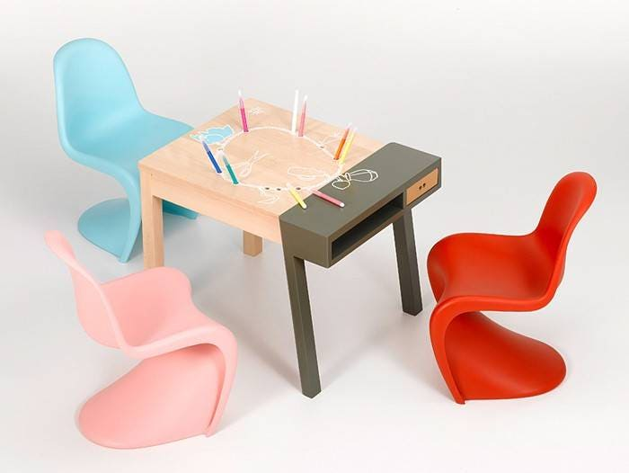 vitra panton junior chair gr shop canada. Black Bedroom Furniture Sets. Home Design Ideas