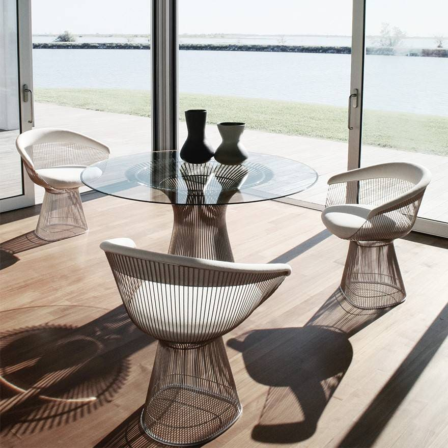 Knoll Warren Platner - Seating Collection - Arm Chair - GR ...