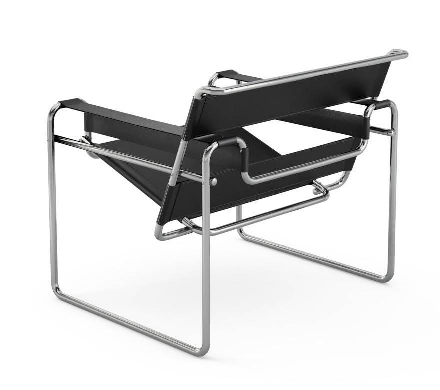 knoll marcel breuer wassily chair gr shop canada. Black Bedroom Furniture Sets. Home Design Ideas