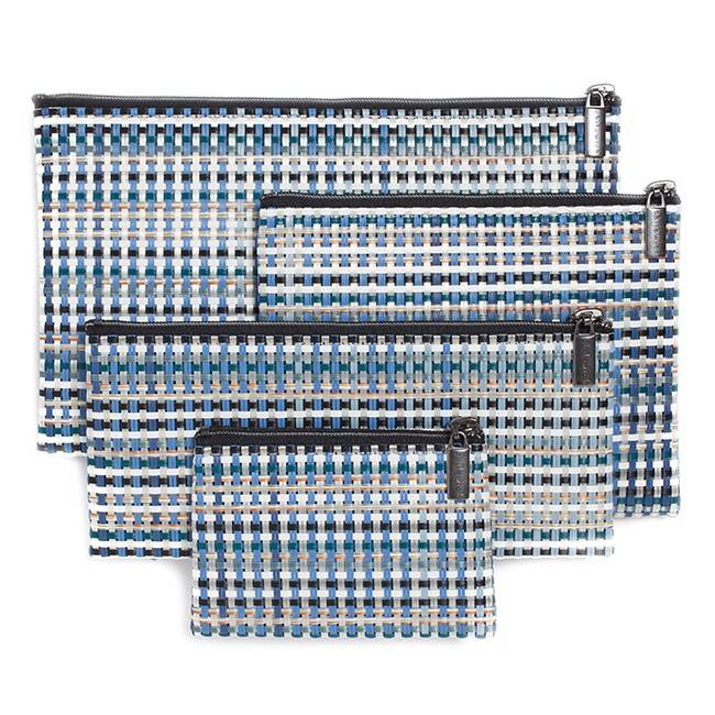 Chilewich Grid Zip Bag or Pencil Case