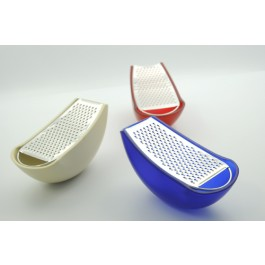 Alessi Parmenide Grater With Cheese Cellar AARU01