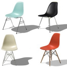 Herman miller eames molded plastic side chair gr shop canada - Chaises eames montreal ...