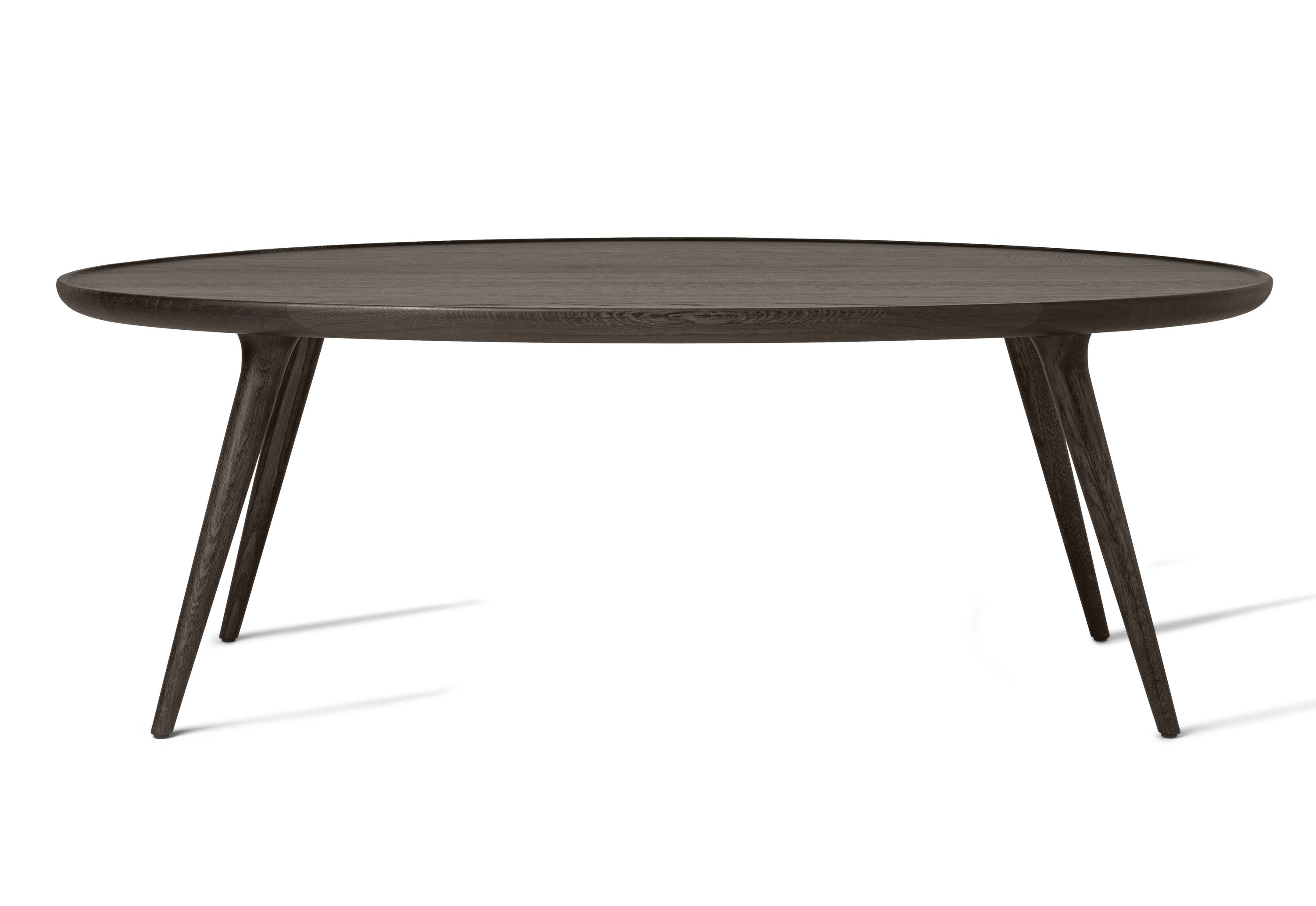 Mater Accent Oval Lounge Table, Sirka Grey Oak