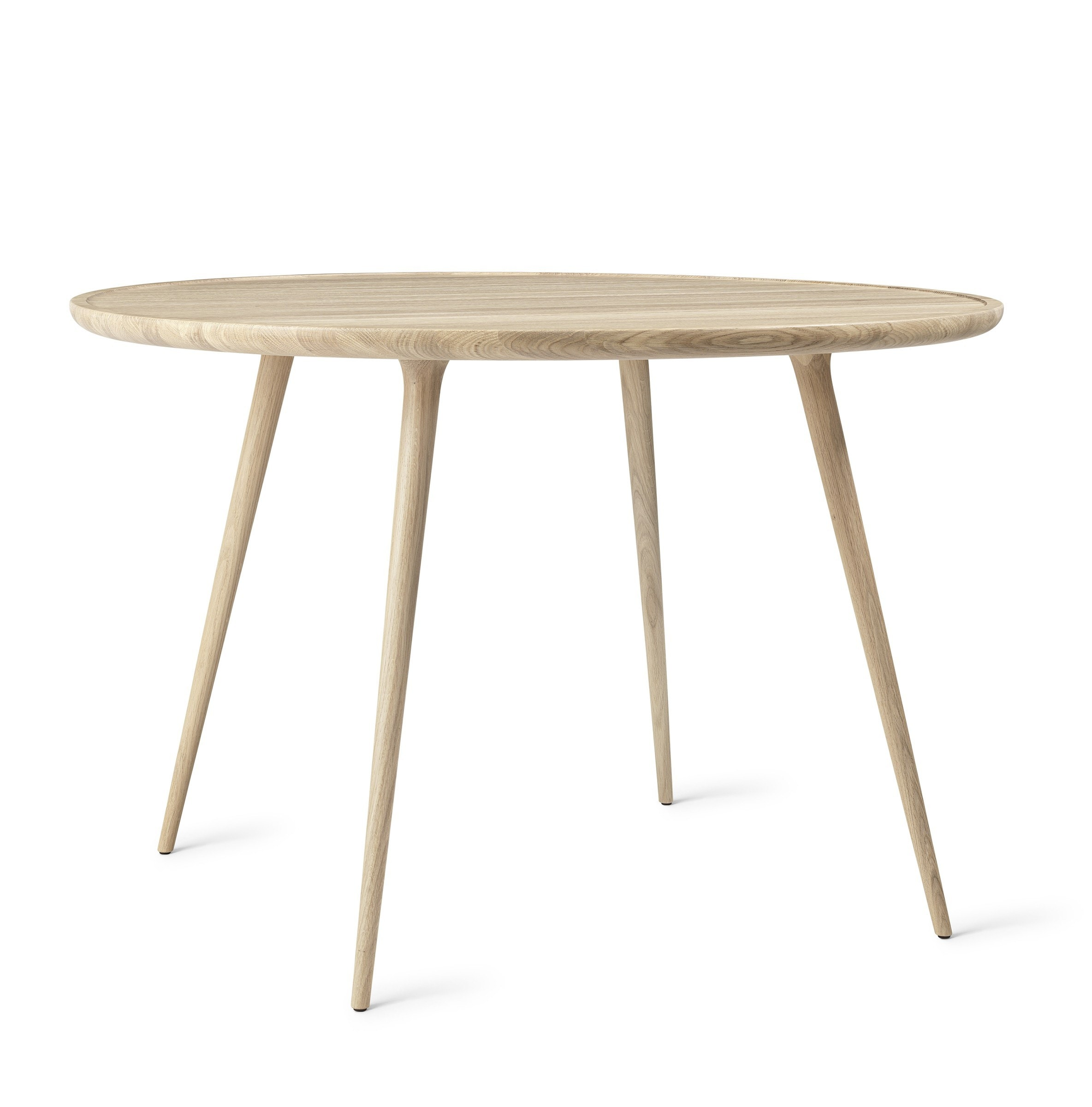 Mater Accent Dining Table - Mat Lacqured Oak