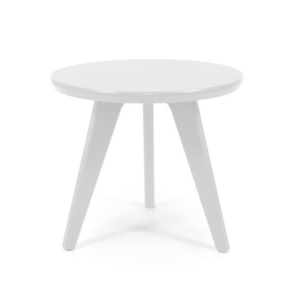 Loll Satellite Outdoor End Table Round 18