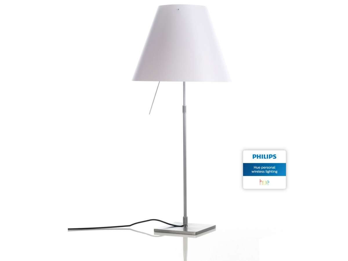 Luceplan Costanza With Philips Hue Table Lamp