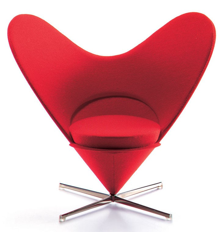 Vitra Miniatures Heart-Shaped Cone Chair