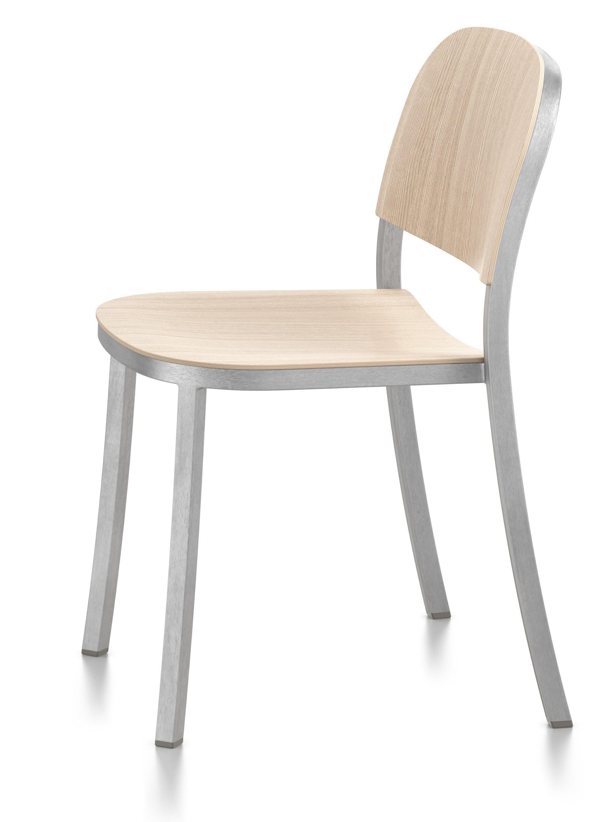 Emeco 1 INCH Stacking Side Chair By Jasper Morrison