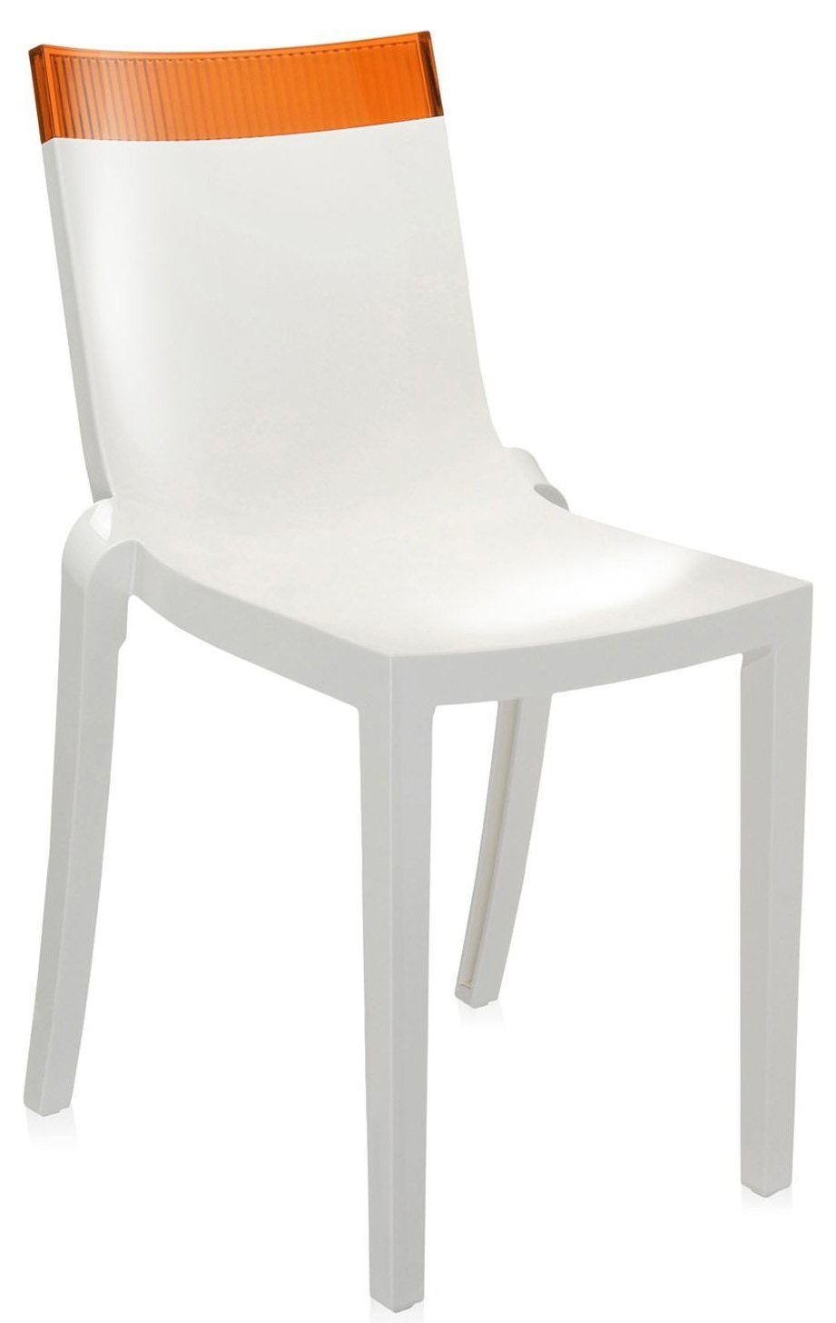 Kartell Hi-Cut Chair (Priced Each, Sold in Sets of 2)