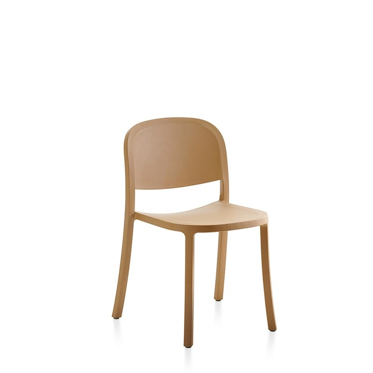 Emeco 1 INCH Reclaimed Stacking Chair By Jasper Morrison