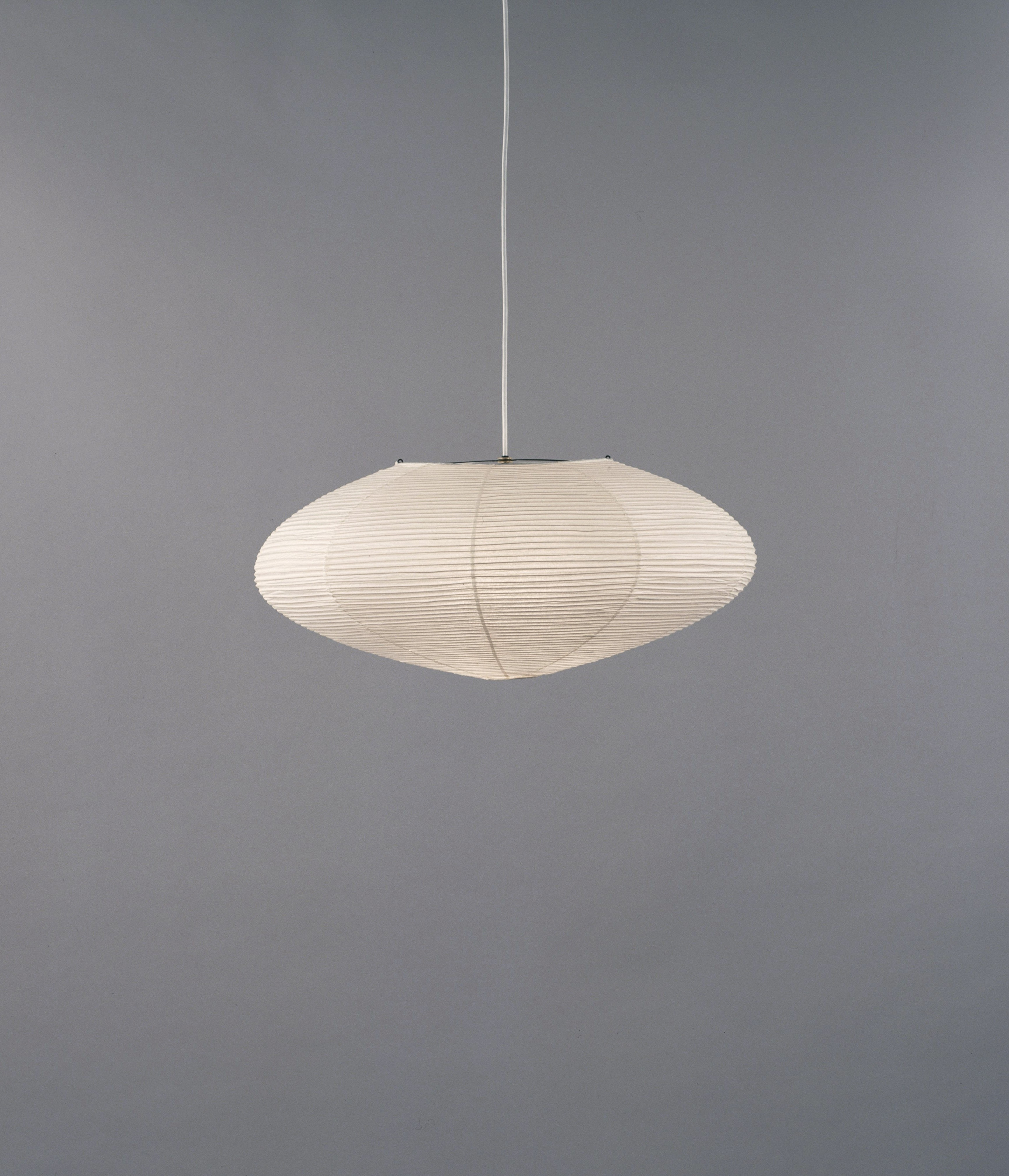 Akari Noguchi Model 26A Ceiling Lamp with Hardwire Kit