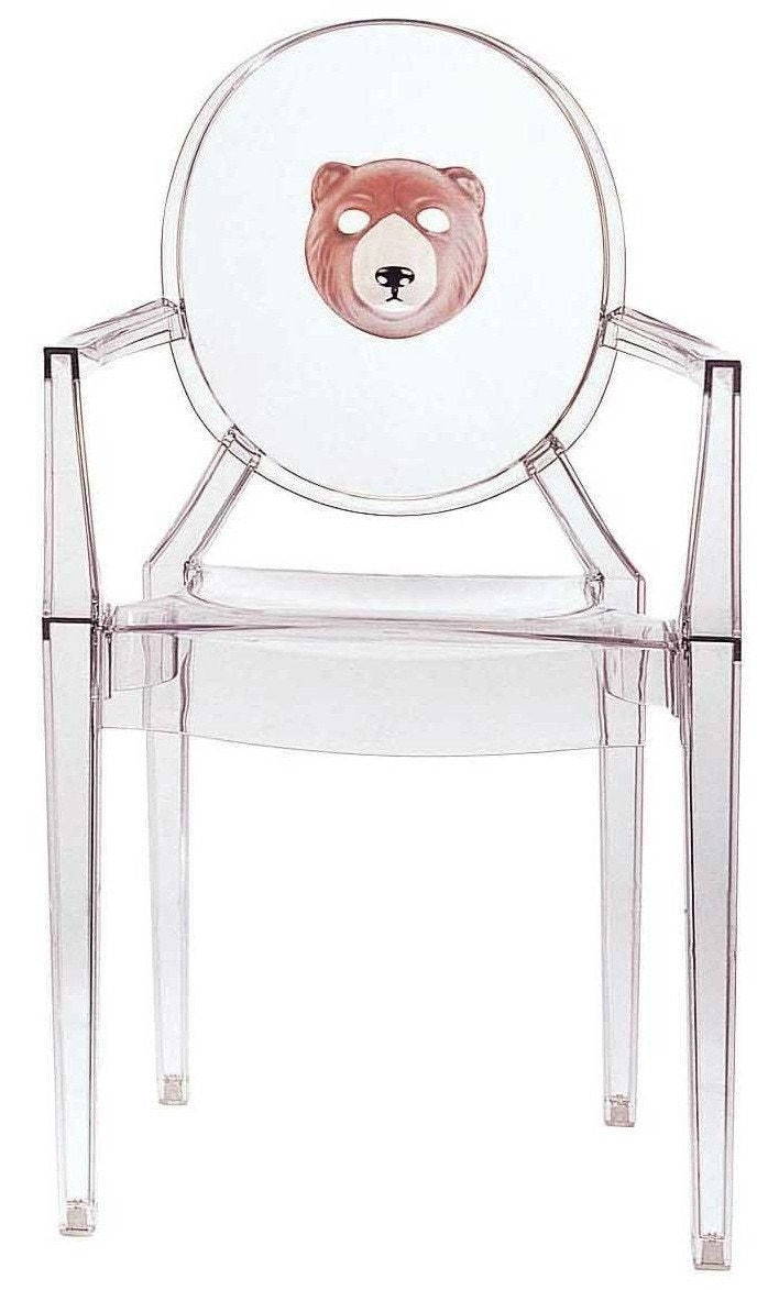 Kartell Louis Ghost Chair with Theme (Priced Each, Sold in Sets of 2)