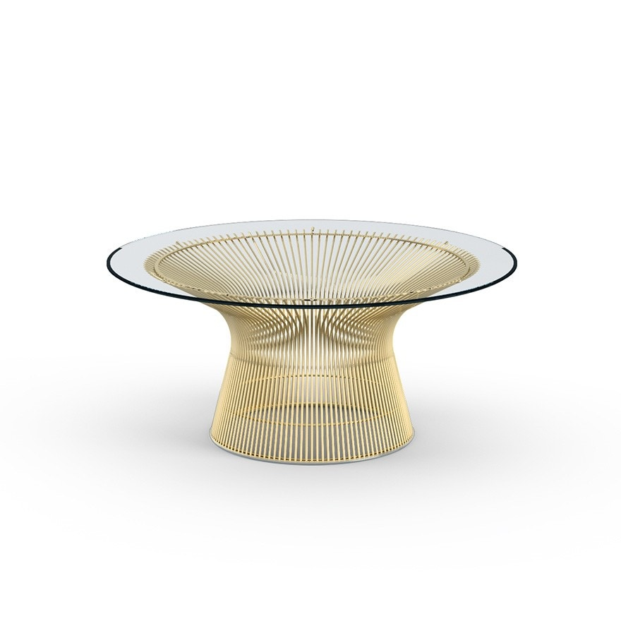 Knoll Warren Platner Table Coffee Table In Gold Gr Shop Canada