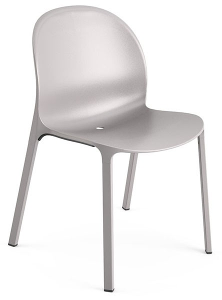 Knoll Jonathan Olivares Aluminum Stacking Chair