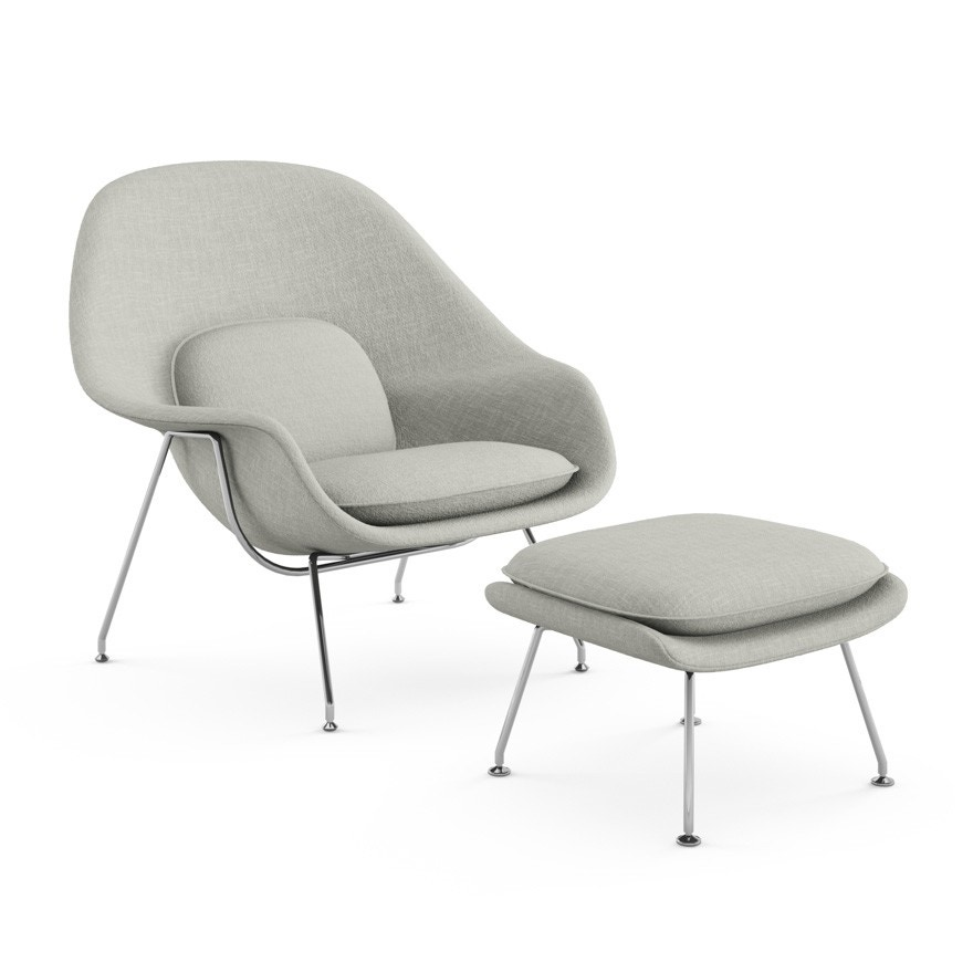 Merveilleux Knoll Eero Saarinen   Womb Chair And Ottoman   GR Shop Canada