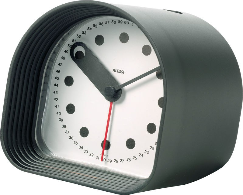 Alessi Optic Table Alarm Clock