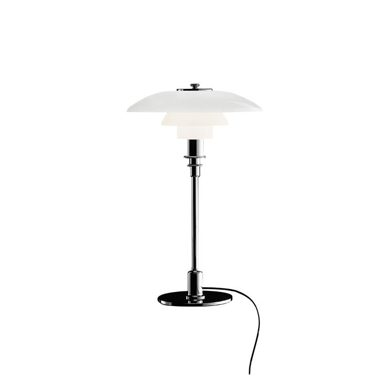 Louis Poulsen PH 3/2 Glass Table Lamp
