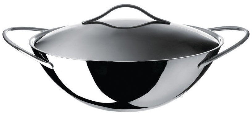 Alessi Domenica Wok in Multiply