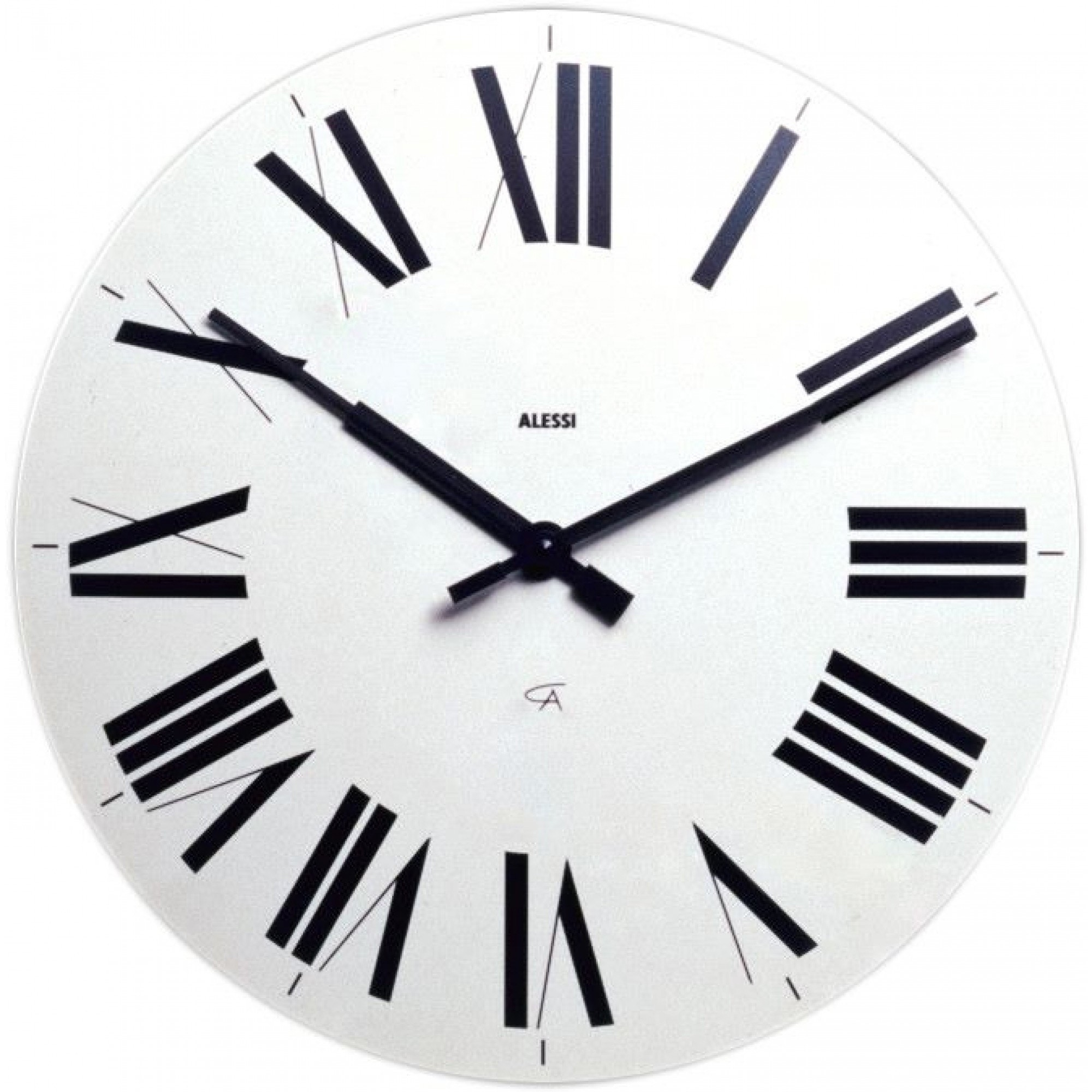 Alessi 12 Firenze Wall Clock