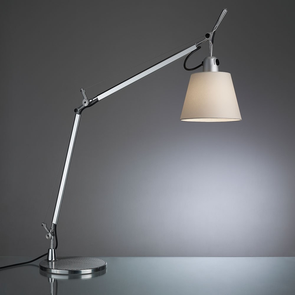 artemide tolomeo with shade table lamp gr shop canada. Black Bedroom Furniture Sets. Home Design Ideas