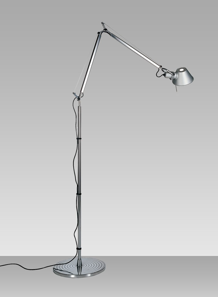 artemide tolomeo classic floor lamp q gr shop canada. Black Bedroom Furniture Sets. Home Design Ideas