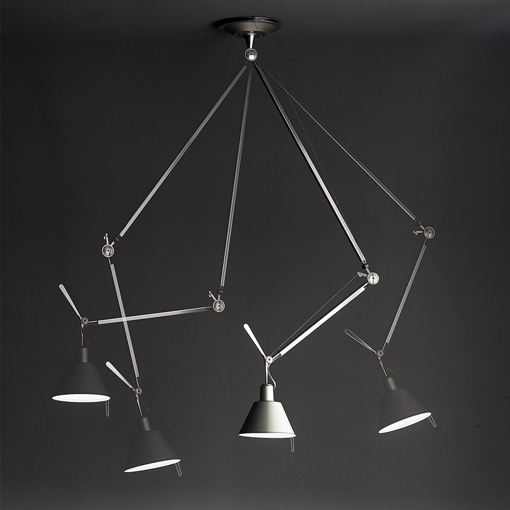Artemide Tolomeo Off-Center Suspension Lamp
