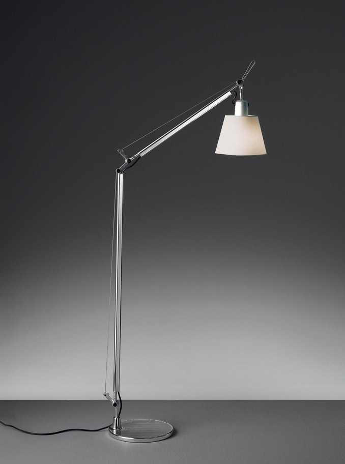 artemide tolomeo reading with shade floor lamp gr shop. Black Bedroom Furniture Sets. Home Design Ideas