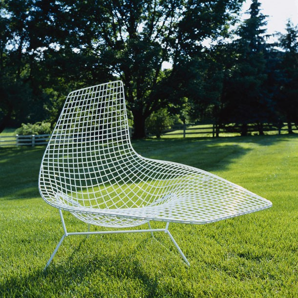 Knoll Harry Bertoia Asymmetric Chaise Outdoor Gr Shop Canada