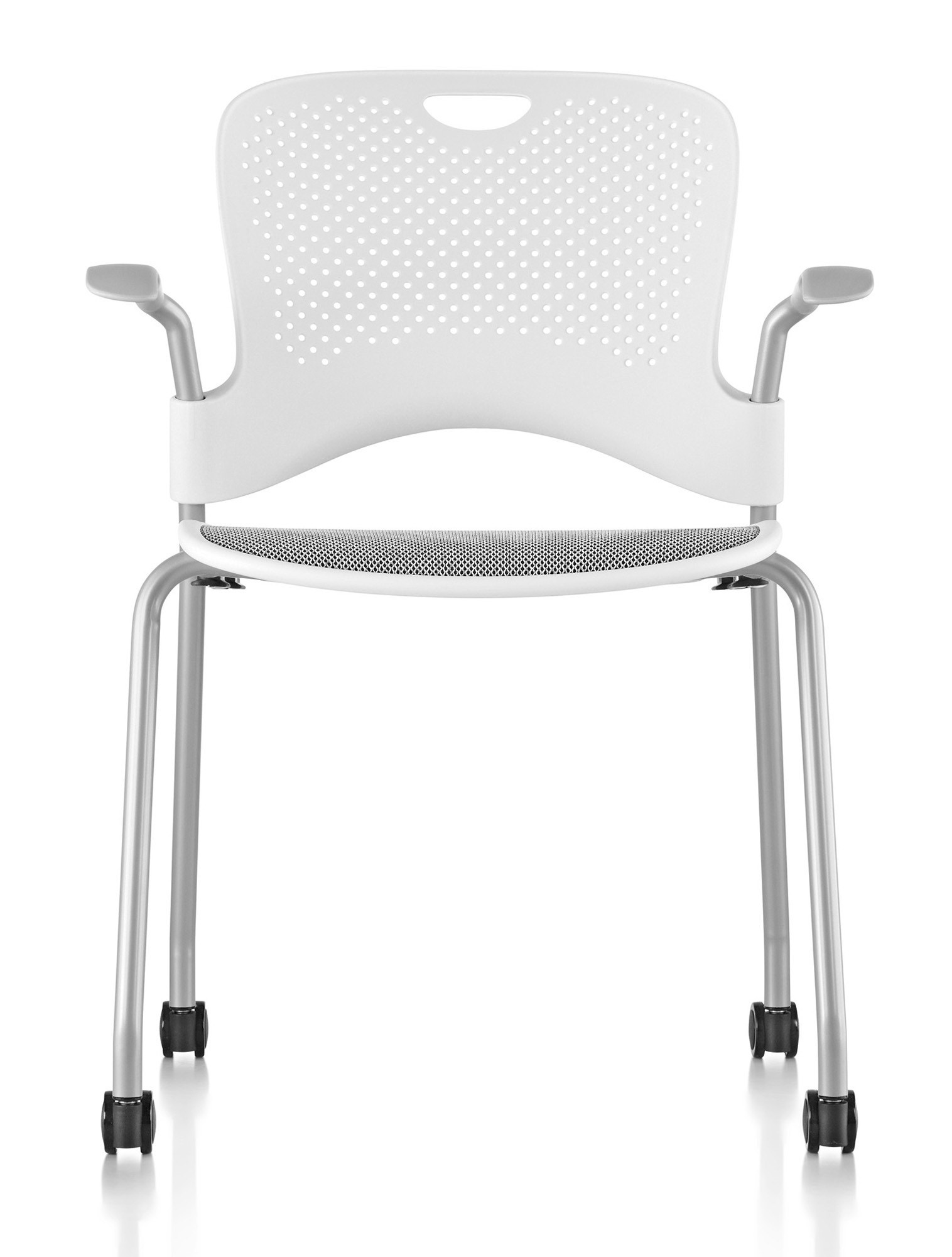 Herman Miller Caper 174 Stacking Chair With Flexnet