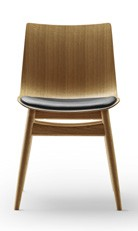 Carl Hansen & Son BA001S Preludia Dining Chair (Wood Base) - Upholstered Seat