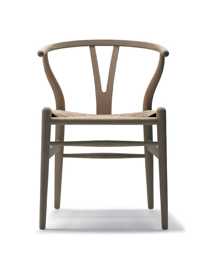 carl hansen son ch24 wishbone chair priced each sold in sets of 2 gr shop canada. Black Bedroom Furniture Sets. Home Design Ideas