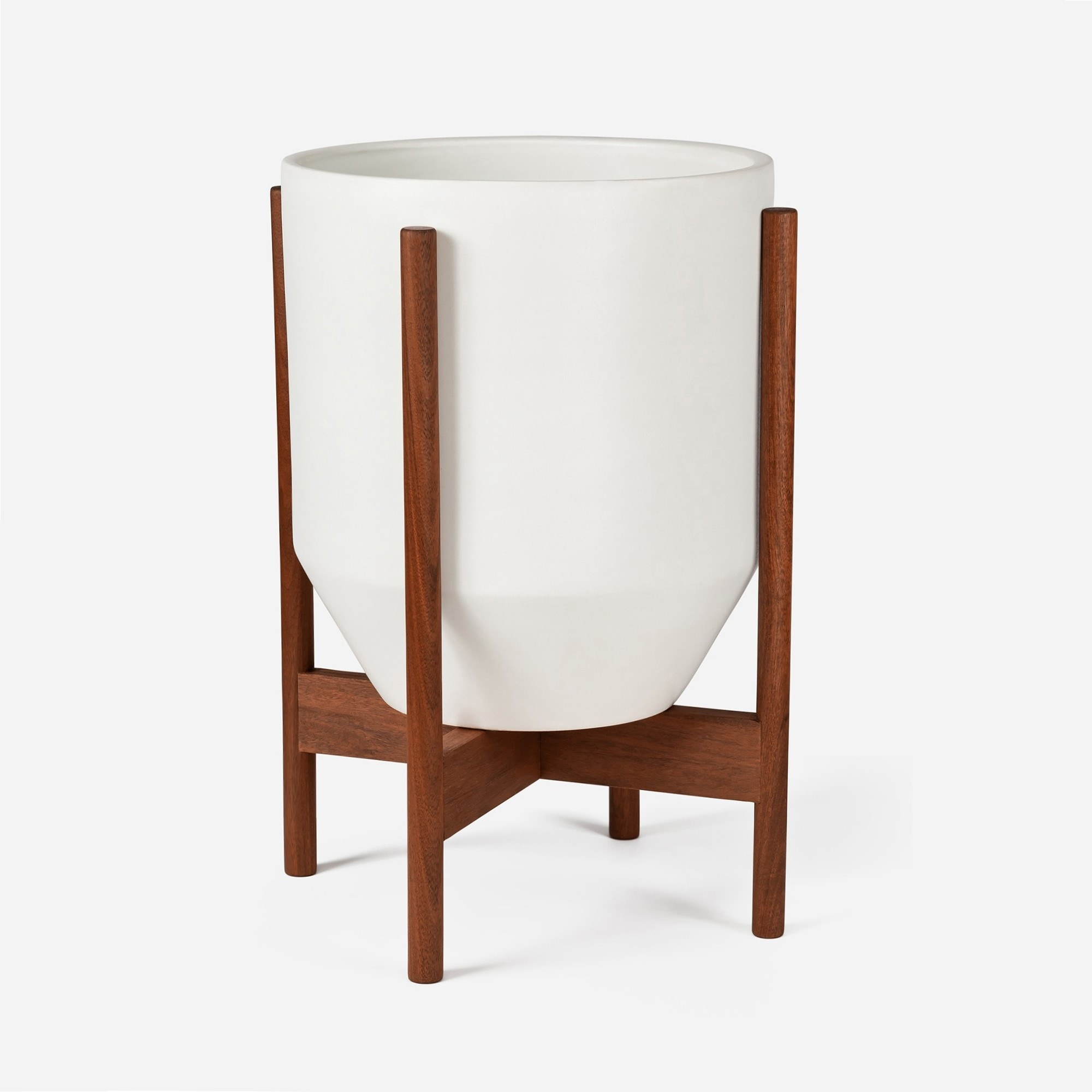 Modernica Case Study® Ceramics Small Hex With Stand (Planter)