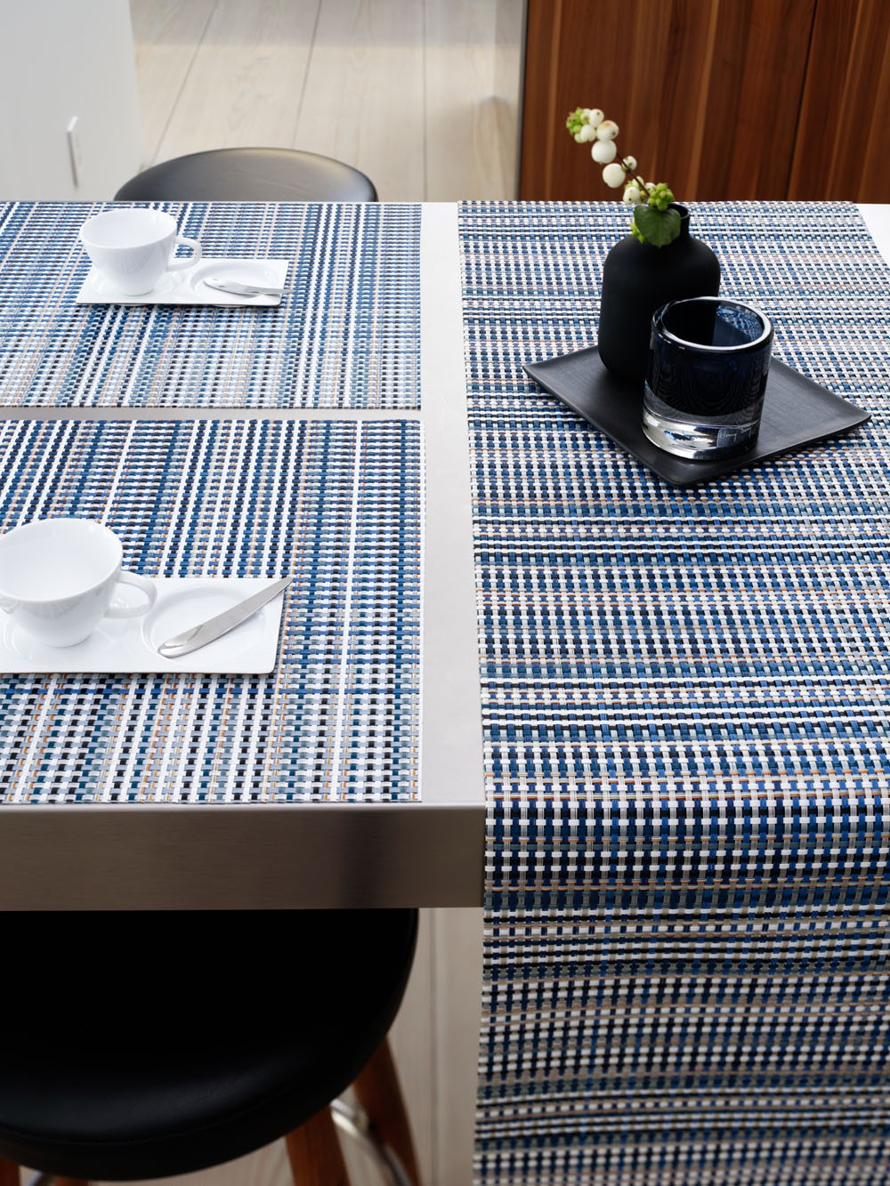 chilewich grid table mat  gr shop canada - chilewich grid table mat