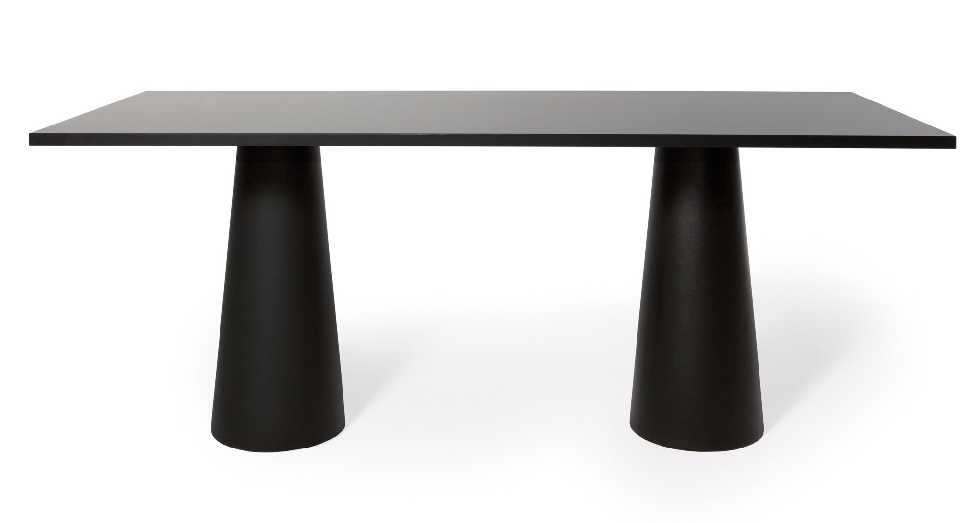 Moooi Container Table With Rectangular 180 X 80 Top Gr