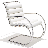 Knoll Ludwig Mies Van Der Rohe Mr Lounge Chair